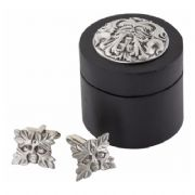 Greenman Cufflinks With Wooden Box